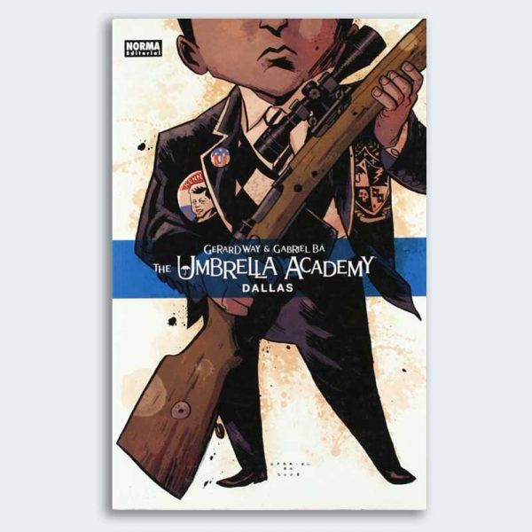 CÓMIC The Umbrella Academy