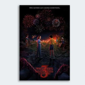Póster Stranger Things One Summer