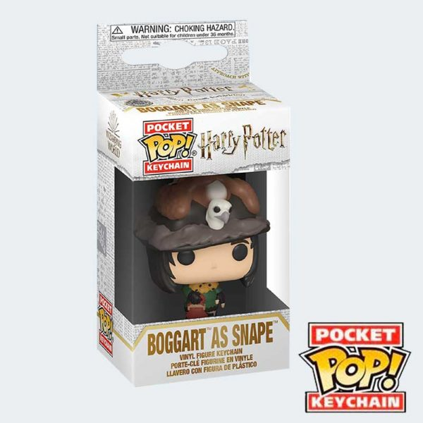 LLAVERO POCKET POP Boggart Snape