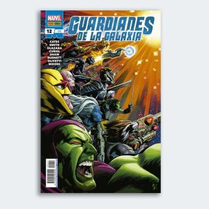 CÓMIC Guardianes de la Galaxia 12