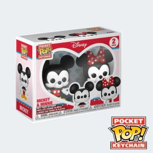LLAVERO POCKET POP Pack Mickey y Minnie