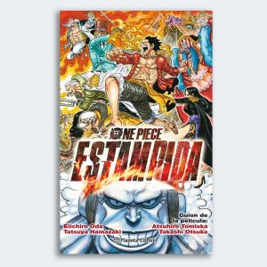 MANGA NOVELA One Piece Estampida