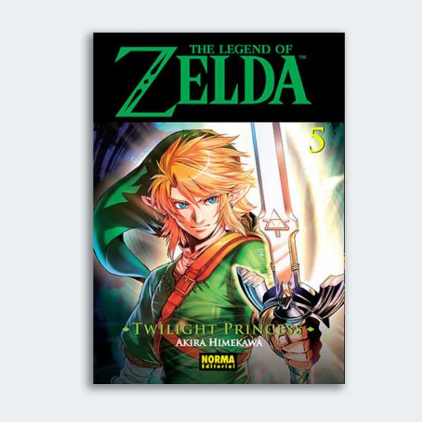 MANGA The Legend of Zelda: Twilight Princess nº 05