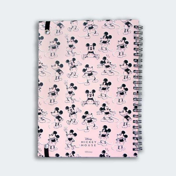 NOTEBOOK A5 Pink Mickey
