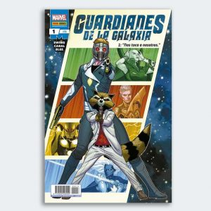 CÓMIC Guardianes de la Galaxia 01