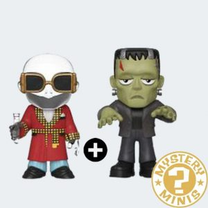 MYSTERY MINIS Hombre Invisible + Frankenstein