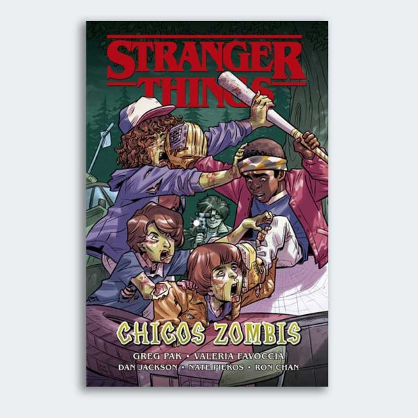 CÓMIC Stranger Things: Chicos Zombis