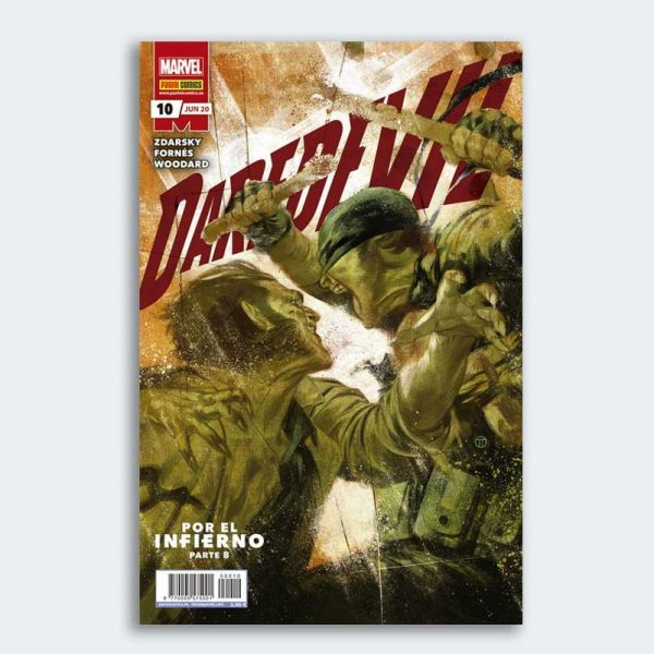 CÓMIC Daredevil 10