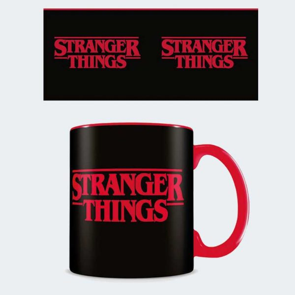 MUG Stranger Things Black