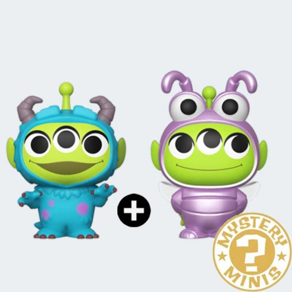 MYSTERY MINIS Alien Dot + Sulley