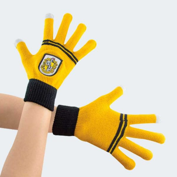 GUANTES E-touch Hufflepuff