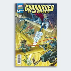 CÓMIC Guardianes de la Galaxia 04