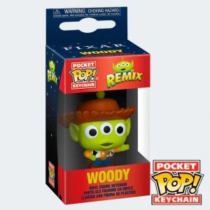 LLAVERO POCKET POP Alien Woody