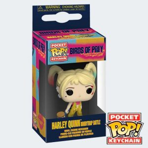 LLAVERO POCKET POP Harley Quinn
