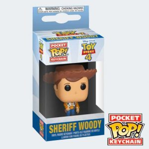 LLAVERO POCKET POP Sheriff Woody