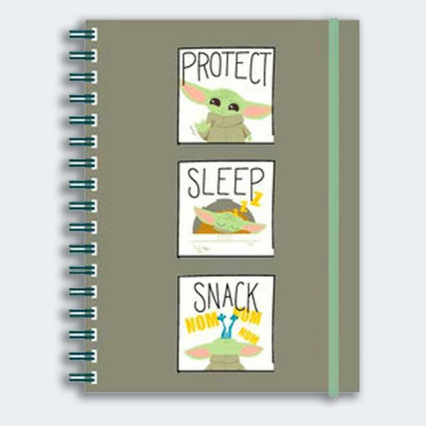 NOTEBOOK A5 The Child Protect, Sleep, Snack