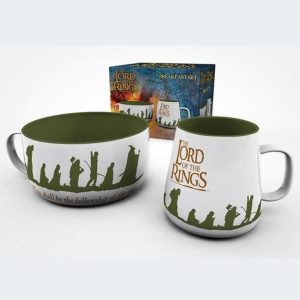 SET DESAYUNO Lord of the Rings