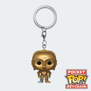 LLAVERO POCKET POP C-3PO
