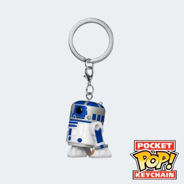 LLAVERO POCKET POP R2-D2