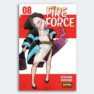MANGA Fire Force nº 08