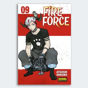 MANGA Fire Force nº 09