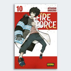 MANGA Fire Force nº 10